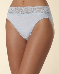 Super Soft Lace High Leg Brief
