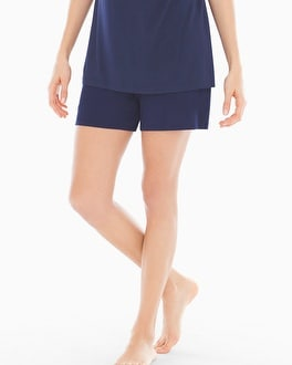 Embraceable Cool Nights Sleep Shorts Navy
