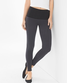 Live. Lounge. Wear. Slimming Legging Houndstooth Excalibur