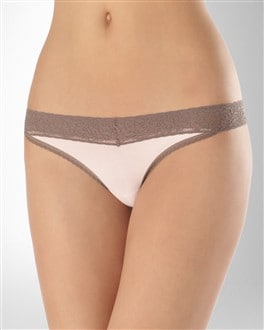 Laceable Rayon from Bamboo Thong