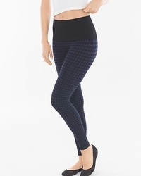 Live. Lounge. Wear. Slimming Legging Houndstooth Navy