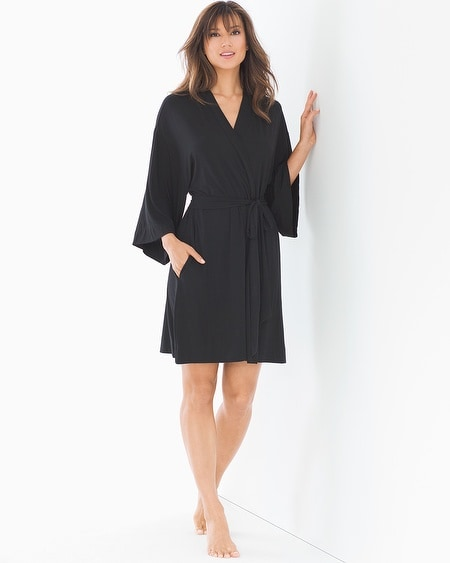 Short Robe Black