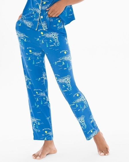 Ankle Pajama Pants
