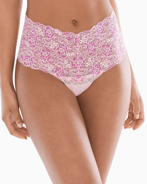 658177cefabd Embraceable Allover Lace Retro Thong - Soma
