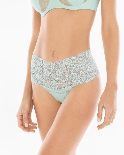 4c163e236a6f 12570215056. Video. Zoom. Embraceable Allover Lace Retro Thong