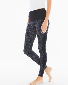 Live. Lounge. Wear. Slimming Legging Blossom Placement Excalibur