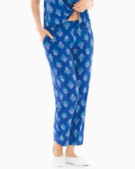 Cool Nights Ankle Pajama Pants Ombre Noir Mini Majesty