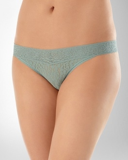 Embraceable All Over Lace Thong