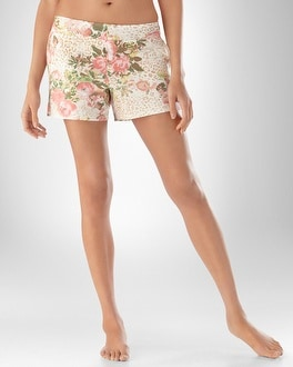Embraceable Cool Nights Forever Ivory PJ Short