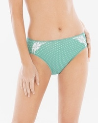 Vanishing Tummy with Lace High Leg Brief
