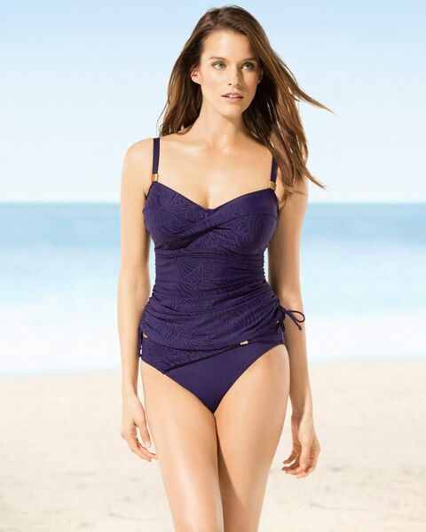 be4ef3b16702f Fantasie Montreal Twist Front D-F Cup Swim Tankini Top - Soma