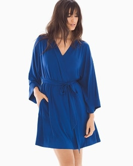 Cool Nights Short Robe Majesty Blue