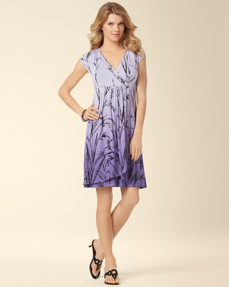 Bethany Dress Floral Breeze