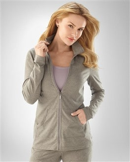 Essential Lounge Charcoal Grey Jacket