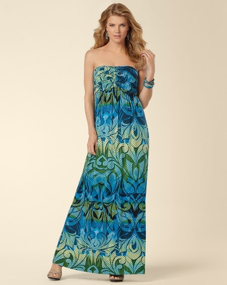 Knotted Bodice Journey Maxi Dress