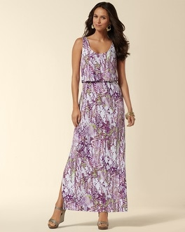 Scoop Neck Bombay Maxi Dress