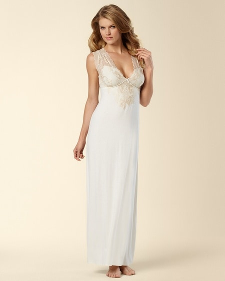 Illustrious Deep V Gown