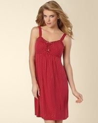 Embraceable Mod Dot Ruby Chemise