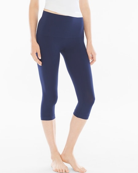 Slimming Crop Legging Navy