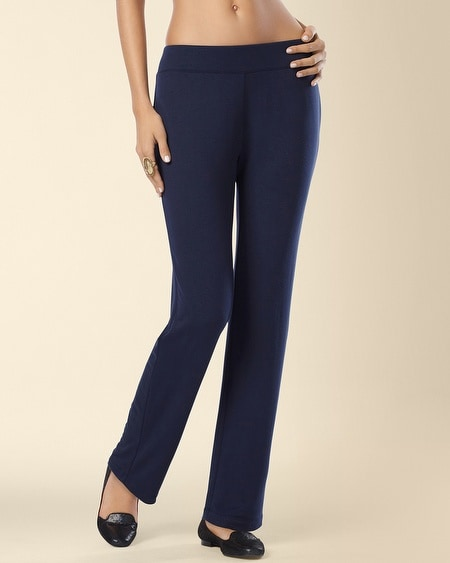 Divine Terry Ankle Pant Navybound