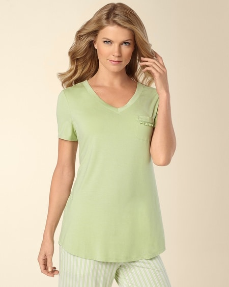 Margarita V-Neck Short Sleeve PJ Top