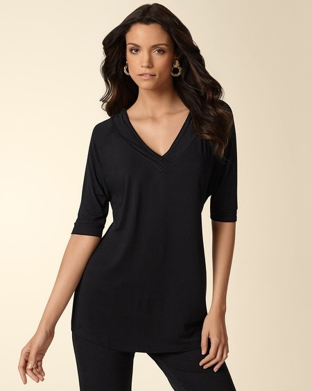 Dolman 3/4 Sleeve Tunic
