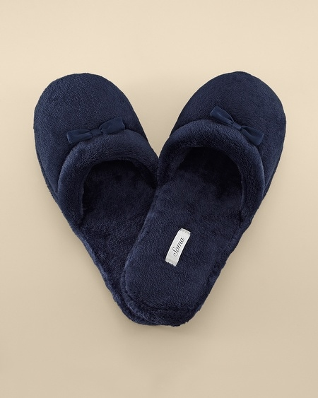 Plush Slipper Navybound