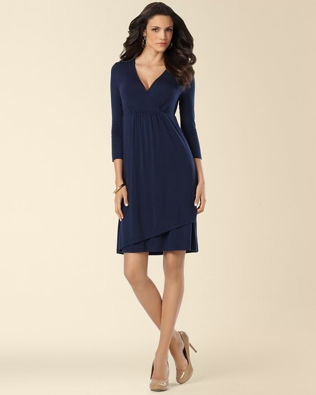 Elsie Dress Navybound
