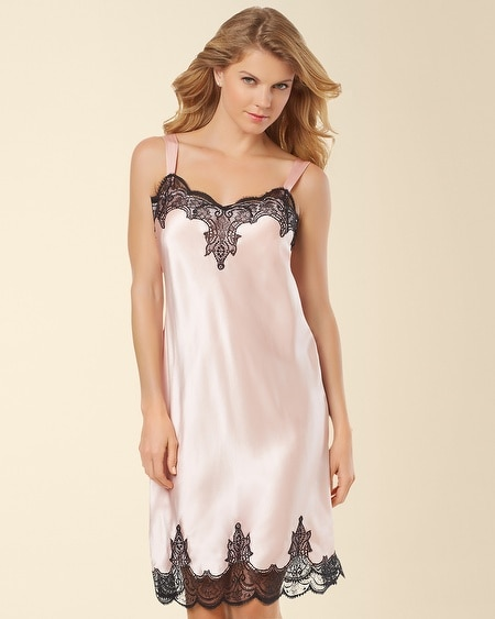 Silk Sleep Chemise Sugar Pink