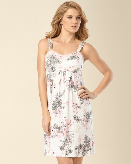 Sleep Chemise Etched Floral