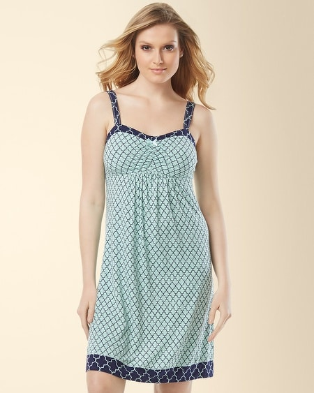 Sleep Chemise Surfside Tile Pale Jade