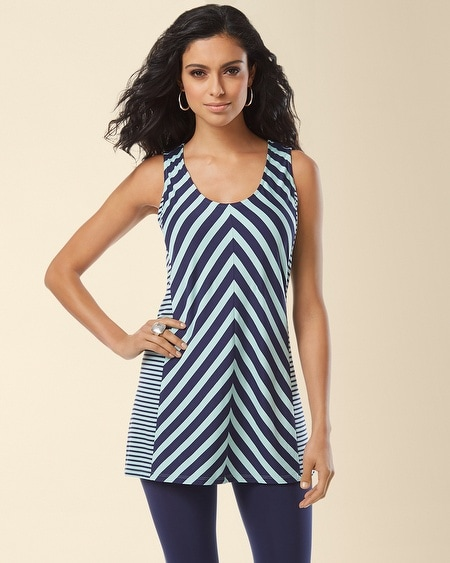 Tank Boardwalk Stripe