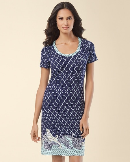 Sleepshirt Surfside Paisley Border