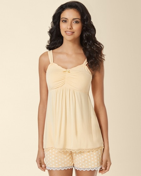 Lace Sleep Cami Custard