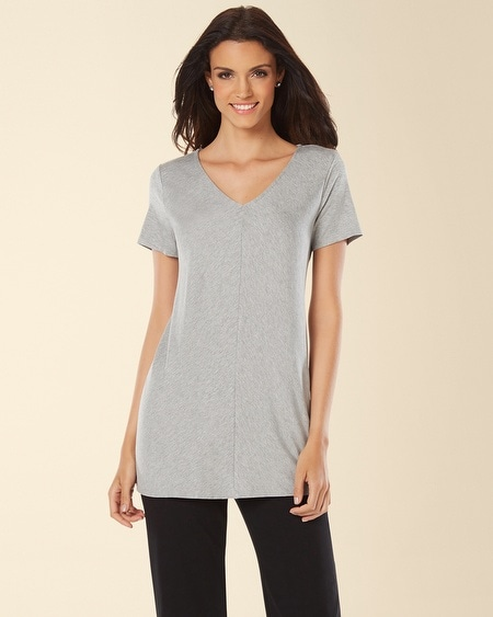 Lounge Tee Heather Silver