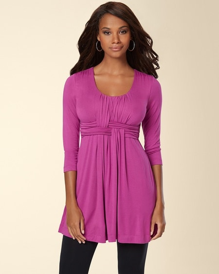 Wrapped Waist Tunic Viola