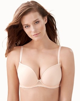 Freya Deco Vibe Plunge Push Up Bra Blush