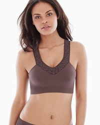 Swappers by Annette Reversible Wireless Lace Trim Bra