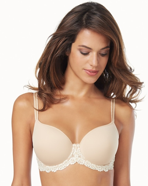 7930c2fbc Embrace Lace Underwire T-Shirt Bra Nude - Soma