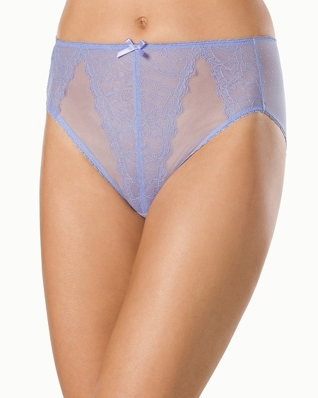 Wacoal Retro Chic High Leg Brief Violet