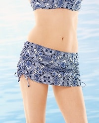 Soma Swim Skirted Slimming Bottom Coastal Tile