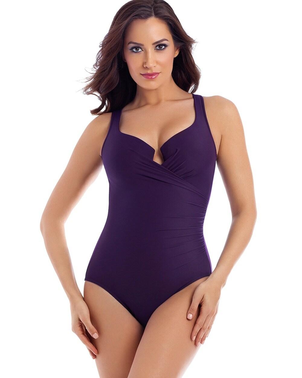 904d018b470 Escape One Piece Swimsuit Plum - Soma