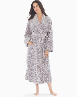fashionablestyle modern design select for clearance Luxe Long Robe Exotic Animal Lunar Dove