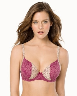 Embraceable Full Coverage Lace Trim Bra