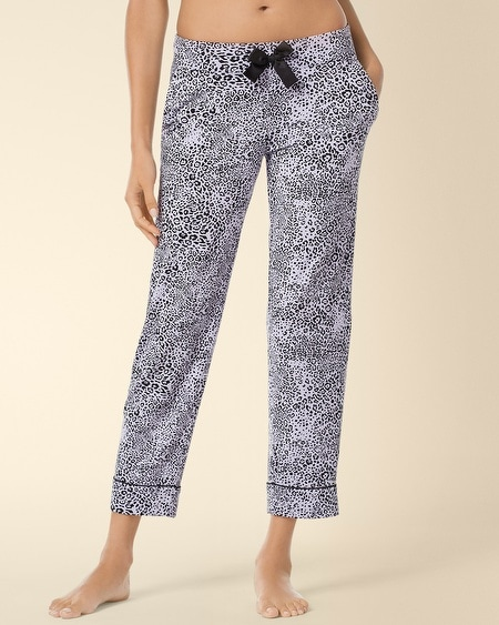Ankle Pajama Pant Ever Leopard
