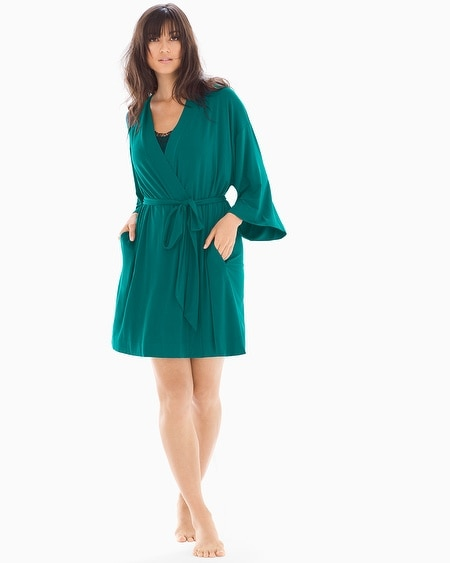 Short Robe Green Envy