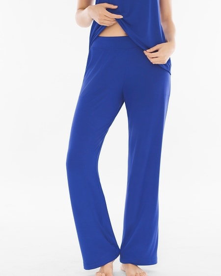 Tall Pajama Pants Jewel Blue