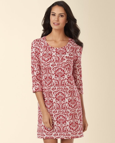 Sleepshirt Baroque Ruby