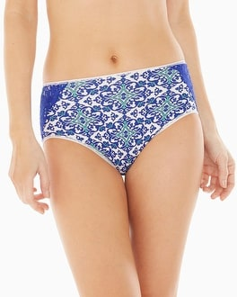 Vanishing Tummy with Lace Modern Brief