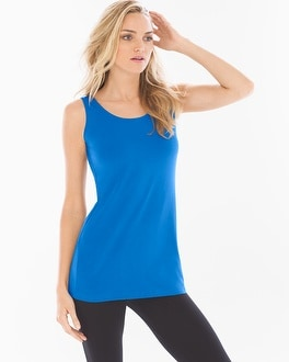 Pima Cotton Tunic Layering Tank